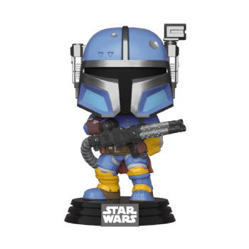 Funko POP! Vinyl Star Wars The Mandalorian : Heavy Infantry Mandalorian - Pre-order
